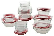 Rubbermaid Easy Find Lid Glass Food Storage Set, 22-piece