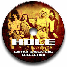 HOLE ROCK GUITAR TABS TABLATURE SONG BOOK SOFTWARE CD