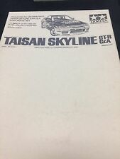 Tamiya Taisan Skyline GT-R Gr.A Body Set 50438