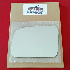 NEW Mirror Glass  + ADHESIVE 96-98 JEEP GRAND CHEROKEE Driver Left Side LH