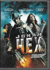 DVD ZONE 2--JONAH HEX--BROLIN/MALKOVICH/FOX/HAYWARD