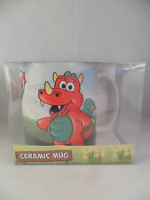 WRU WELSH RUGBY UNION WALES MASCOT ROARY RED DRAGON BOXED MUG STOCKING FILLER