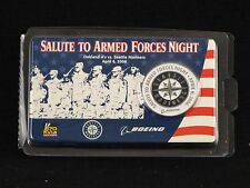2006 Seattle Mariners Salute to Armed Forces Night Commemorative Coin 4/6/2006