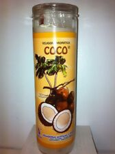 COCONUT (COCO) PREPARED AND SCENTED 7 DAY CANDLE IN GLASS