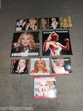 THE COMPLETE MADONNA - 3 CD AUDIO BIO/POSTERS/POSTCARDS! - DOES NOT HAVE MUSIC