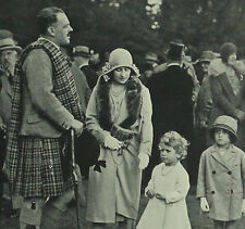 Glamis Castle Earl Of Airlie David Ogilvy Diana Bowes-Lyon 1929 Photo Article