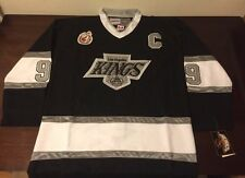 New Wayne Gretzky Los Angeles Kings Throwback Jersey Men's 50 (L) Stitched Rare