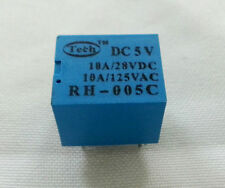 1 piece RH-005C Power Relay Coil DC 5V 5Pins 5-pins SPDT 10A + USA Free shipping