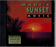 MAUI'S SUNSET - MUSIC - MAUI MOON/BLUE HAWAII/MAKAWAO - MINT CD