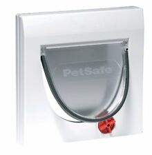 Door Locking Pet Flap Cat Dog Classic Window Way Out Entrance Exit Lid Accessory