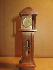 CONCORD DOLL HOUSE MINIATURES  CLOCK ,GRANDFATHER CLOCK Vintage