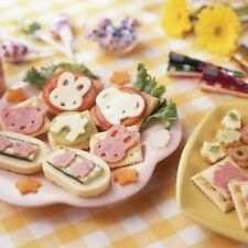 NEW CHEESE & HAM , MEAT FOOD CUTTER FOR BENTO LUNCH BOX - JAPANESE KAWAII STYLE