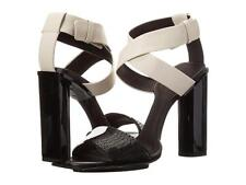 New in Box-$995.00 Calvin Klein Collection Iris Leather/Bead Sandal SZ 8.5 (38.5
