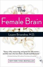 NEW: The Female Brain by Louann Brizendine Paperback + FREE SHIPPING!!!