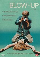 BLOW UP , BLOW-UP BY Michelangelo Antonioni - Vanessa Redgrave NEW DVD