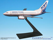 Flight Miniatures Boeing 737-600 House Colors 1981 Demo Livery 1/200 Scale Mint