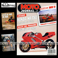 MOTO JOURNAL N°912 BMW K1 K100 HONDA NR 750, PACIFIC COAST JAPAUTO SURTEES 1989