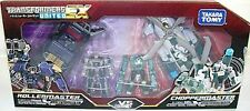 TAKARA TOMY TRANSFORMERS UNITED EXP 01 ROLLERMASTER VS CHOPPERMASTER