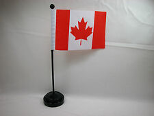 "4""x6"" Hand Held  or Table Top Flags International Country Flag - Canada"