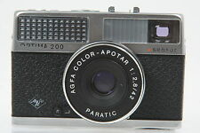 Agfa Optima 200 sensor mit Color Apotar 2,8/42mm #FV5074AY