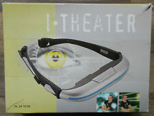 iTheater Videobrille mit Bedienungsanleitung, siehe Artikelbeschreibung.