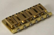 NEW Solid Brass Hard Tail  Bridge For Fender Strat -  Made in USA - Guitar Parts
