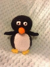 KNITTING PATTERN - Monty the Christmas penguin choc orange cover / novelty toy