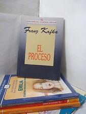 EL PROCESO - FRANZ KAFKA Spanish Literature Libros en Espanol