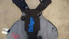 New Drager Ray jacket BCD T53018 Rebreather complete super rare dolphin CCR