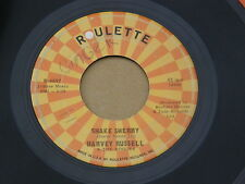 "HARVEY RUSSELL SHAKE SHERRY ROULETTE orig US GARAGE ROCK SURF INSTRO 7"" 45 HEAR"
