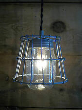 MASON JAR Light Fixture Primitive Milk Crate Wire Basket 1 Mason Jar Pendant