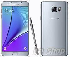 "Samsung Galaxy Note 5 Duos N9200 Silver 32GB 4GB RAM 5.7""16MP Phone By FedEx"