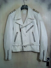 VINTAGE anni'70 heingericke Leather Motorcycle giacca taglia M