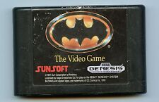 Batman: The Video Game (Sega Genesis, 1990) Working