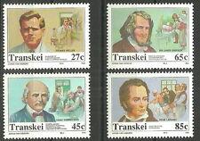 Transkei - Mediziner (VII).  Satz postfrisch 1992 Mi. 283-286