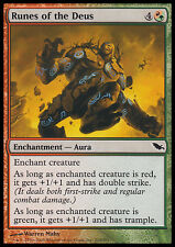 4x Rune del Dio - Runes of the Deus MTG MAGIC SM Ita