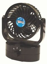 12Volt Air Fan 360° All-Round Rotation Automotive Cooling Cooler Office Car Van