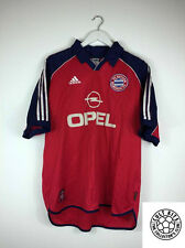 Retro BAYERN MUNICH 00/01 Home Football Shirt (XL) Soccer Jersey Adidas