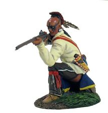 BRITAINS SOLDIERS/CLASH OF EMPIRES-EASTERN WOODLAND INDIAN KNEELING FIRING-16000