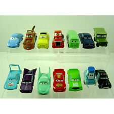14 pcs Disney Pixar Cars McQueen Sally King Ramone Mack Guido PVC Figure + GIFT