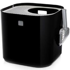 Black Modkat Cat Litter Box Modern Pet Toilet