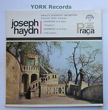 SUA ST 50572 - HAYDN - Symphonies No 94 & 101 TURNOVSKY Prague SO - Ex LP Record