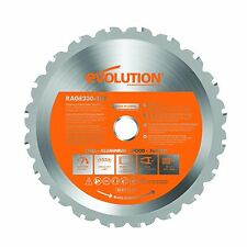 "Evolution 9"" Multipurpose Blade RAGE230BLADE"