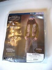 Boy size 8 M Duck Dynasty Willie Camo Hunter Halloween Costume Decoration