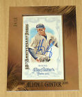 2015 Topps Allen/Ginter mini framed 10th an autograph buyback Anthony Rizzo 4/10