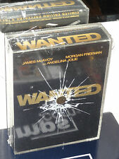 Wanted (DVD) Limited Edition Collector's Set! James McAvoy, Angelina Jolie, NEW!