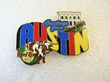 AUSTIN,Hard Rock Cafe Pin,Greetings From Series *Closed* Cafe