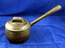 Fabulous 19th c. Wrought & Cast Iron Cooking Pot for Hearth