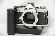 Olympus OM-2N 35mm SLR Film Camera Silver Body Only SN534077 w/Winder 1