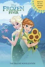 Junior Deluxe Novel: Disney Frozen Fever by Victoria Saxon (2015, Hardcover)